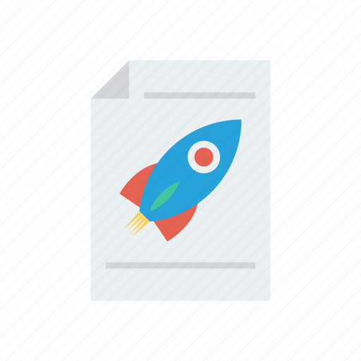 document, file, records, speedup, startup icon