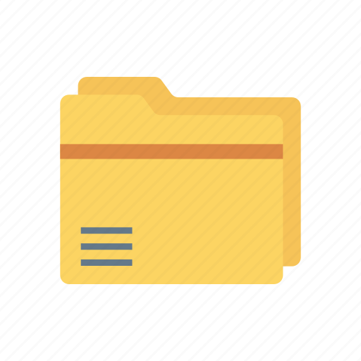 archive, document, files, folder, records icon