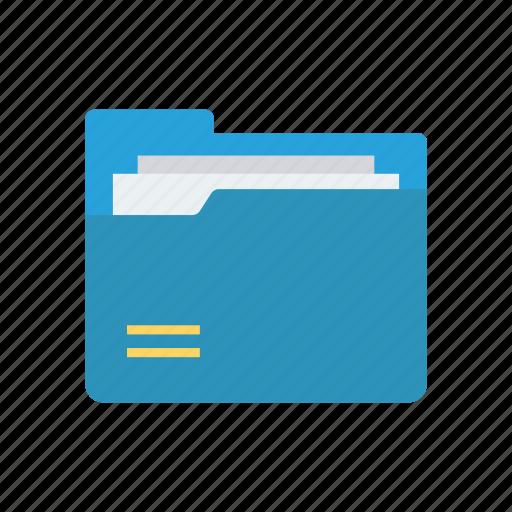 archive, data, files, folder, records icon