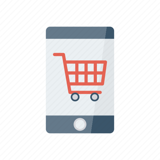 buying, mobile, online, phone, shopping icon