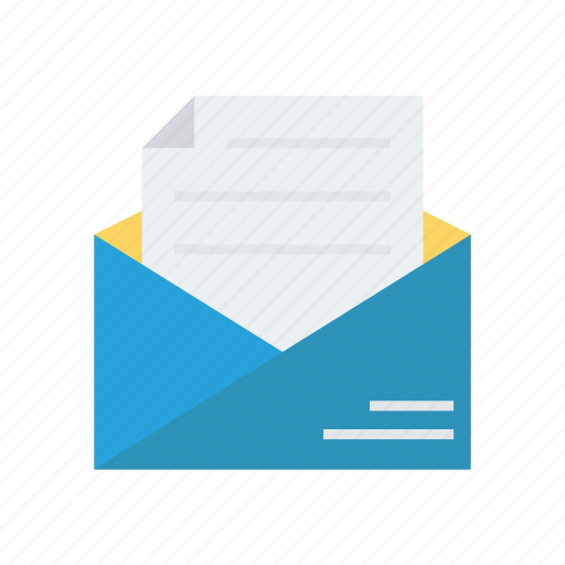 Email, letter, mail, message, open icon - Download on Iconfinder