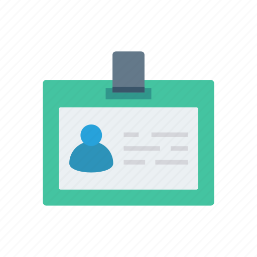 card, employee, id, identity, passport icon