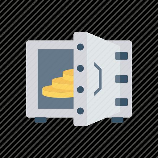 Bank, locker, money, safe, saving icon - Download on Iconfinder