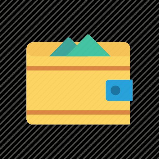 Cash, money, purse, saving, wallet icon - Download on Iconfinder