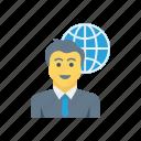 employee, world, man, user, avatar