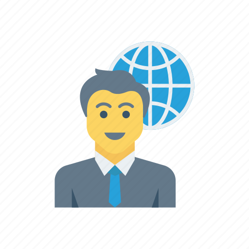 Avatar, employee, man, user, world icon - Download on Iconfinder
