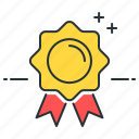 award, badge, medal, recognition icon
