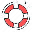 float, help, rescue icon