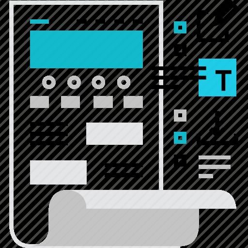 content, development, edit, interface, web, webpage, website icon