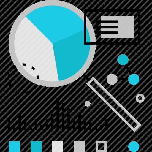 analisys, data, diagram, exploration, information, research, statistics icon