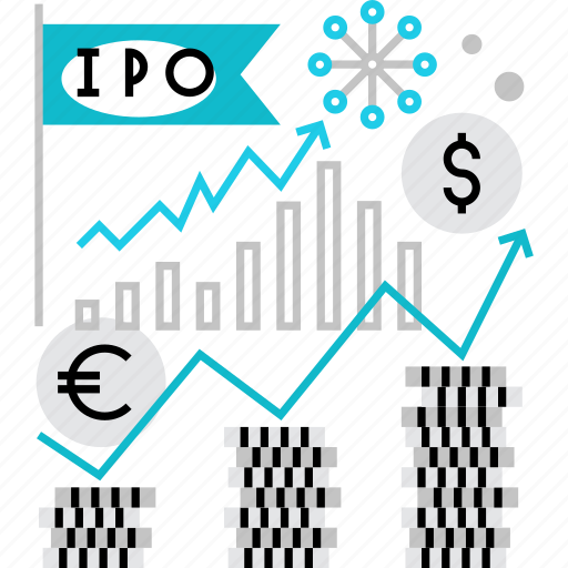 chart, financial, growth, index, ipo, offer, stock icon