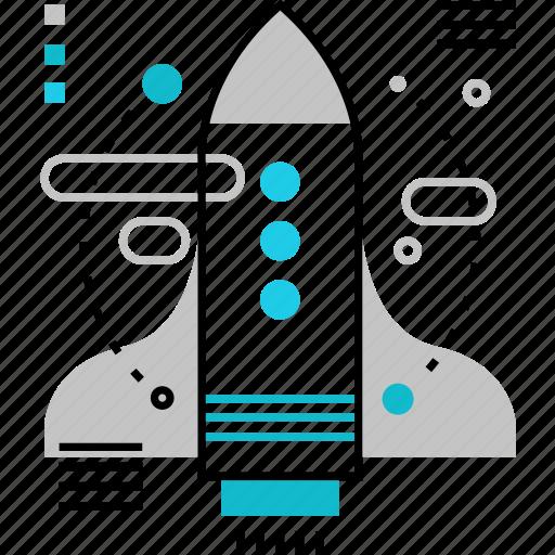Business, launch, new, rocket, spacecraft, spaceship, startup icon - Download on Iconfinder