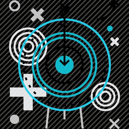 accuracy, achievement, aim, goal, mission, precision, target icon
