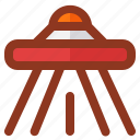 business, interface, start, startup, ufo icon