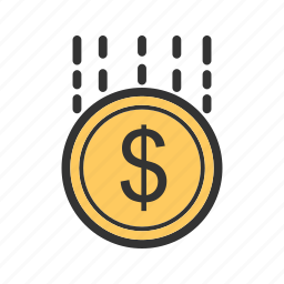 business, funding, funds, investment, money, success icon