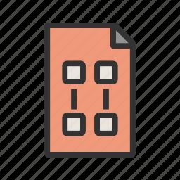 data, idea, infographic, marketing, plan, planning, strategy icon