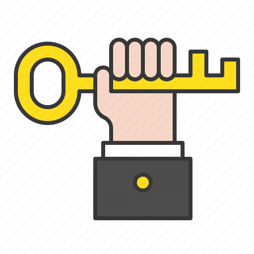 business, business man, hand, startup, success icon