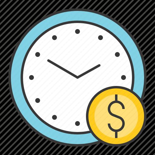 chance, clock, fund, money, startup, แ้ฟืแำ icon