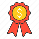 award, badge, prize, startup icon