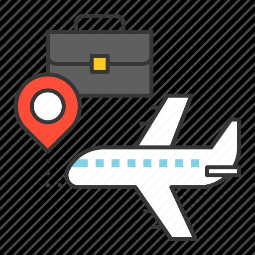 plane, startup, transport, travel icon