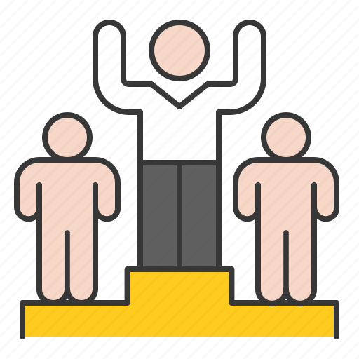 competition, first, startup, winner icon