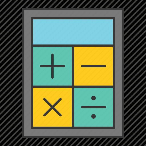 calculate, calculation, calculator, finance, startup icon