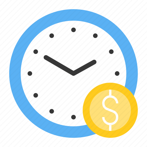 Chance, clock, money, startup, time icon - Download on Iconfinder
