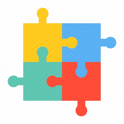 jigsaw, puzzle, startup, strategy icon