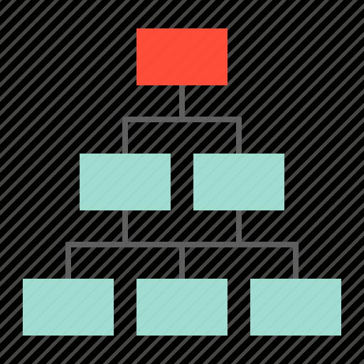 diagram, information, startup, tree diagram icon