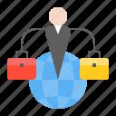 globe, startup, network, business, online