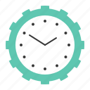 clock, event, schedule, startup, time icon