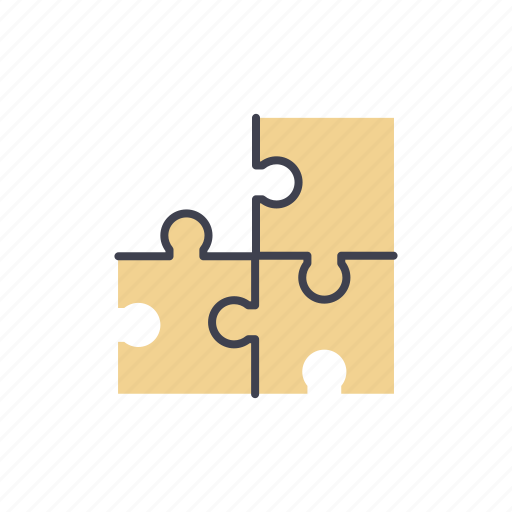 intelligence, jigsaw, problem, puzzle, solution, solving, startup icon