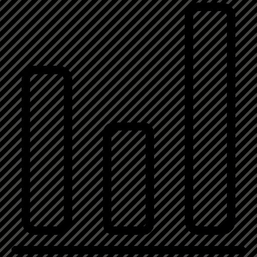 bar, bar graph, chart, charts, diagram, report, statistics icon