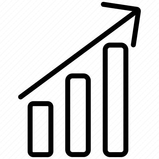 analysis, analytics, bar chart, diagram, grow, growth, statistics icon