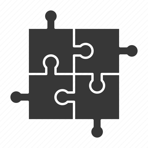 business, jigsaw, puzzle, strategy icon