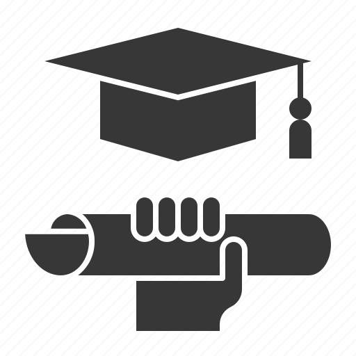 business, education, graduation, learning icon
