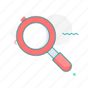 code, find, launcher, search, startup icon