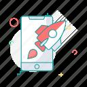code, device, launcher, smartphone, startup icon