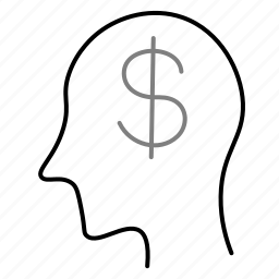 avatar, dollar, man, startup, user icon
