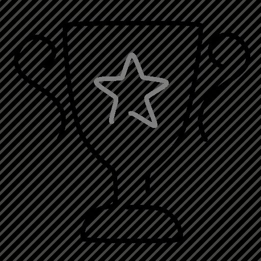 achievement, award, prize, startup, success, trophy icon
