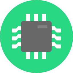 business, chip, digital, electronics, hardware, high tech, inside, technology icon