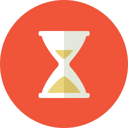 business, fast, hourglass, hurry, late, monitor, test, time, work icon