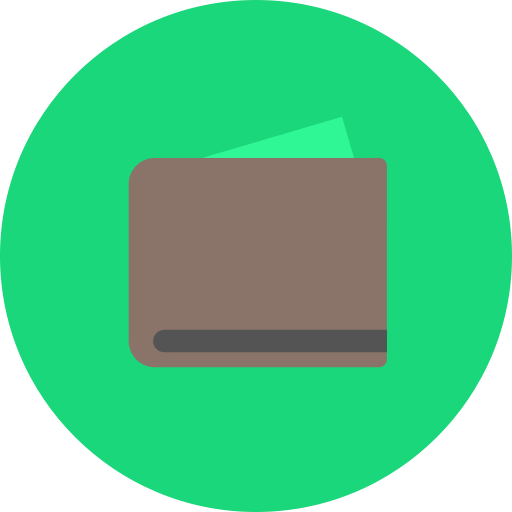 currency, money, purchase, retail, shop, wallet icon