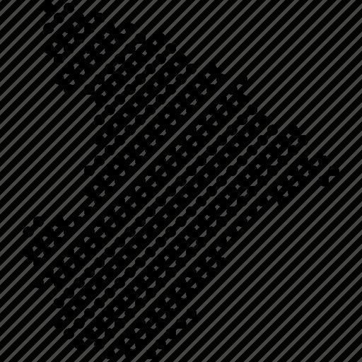 dots, federation unit, map, se, sergipe, states of brazil icon
