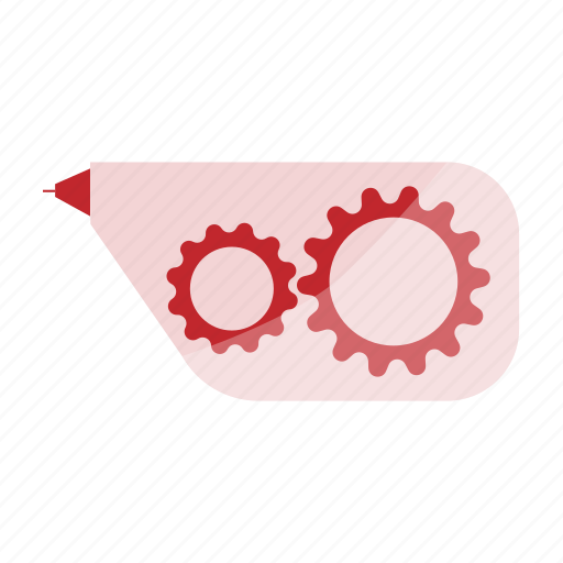 corrector, edit, highlighter, remove, stationery icon