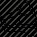 remover, staple, stationary, unmount icon