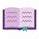 book, document, notes, office, read, stationery, write icon