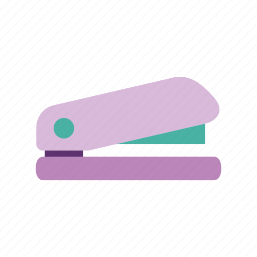 office, paper, staple, stapler, stationary, stationery, work icon