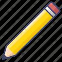 edit, pencil, stationary, write icon