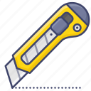 cutter, knife, office, stationary icon